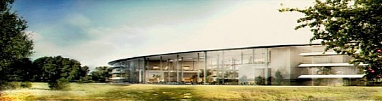 Apple's proposed second campus' cafe