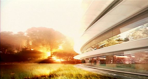 Apple's proposed second campus' features curved glass all around