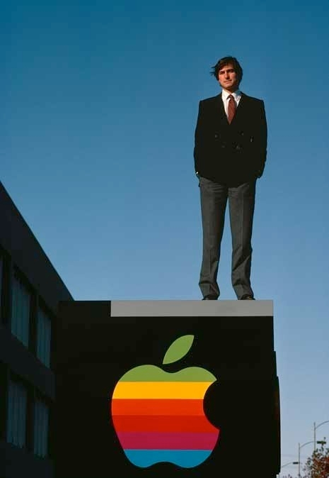 """Steve Jobs"" by Diana Walker (born 1942) / Digital inkjet print, 1982 (printed 2011) / (Diana Walker - National Portrait Gallery, Smithsonian Institution; gift of Diana Walker; © Diana Walker)"