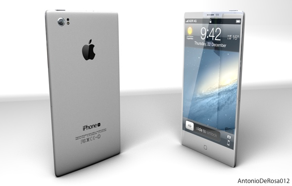 ADR Studio: iPhone Concept: Antonio DeRosa 2012
