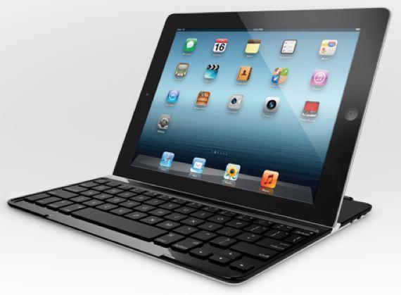 Apple iPad with Logitech Ultrathin Keyboard Cover