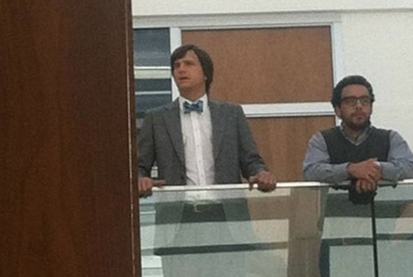 "Ashton Kutcher as Steve Jobs in ""jOBS"""