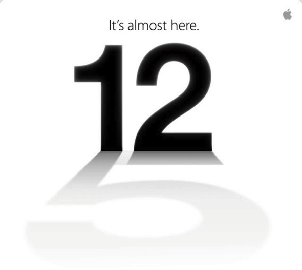 Apple Inc.'s invitation to September 12th special media event