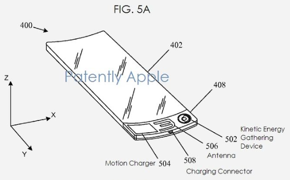 "USPTO: Apple patent application slap-bracelet ""iWatch"""