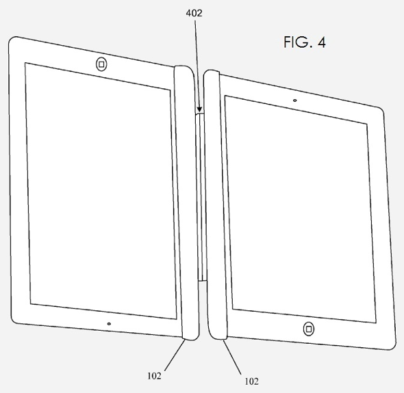 Dual iPad Configuration for larger eBooks and Notebook with Virtual Keyboard