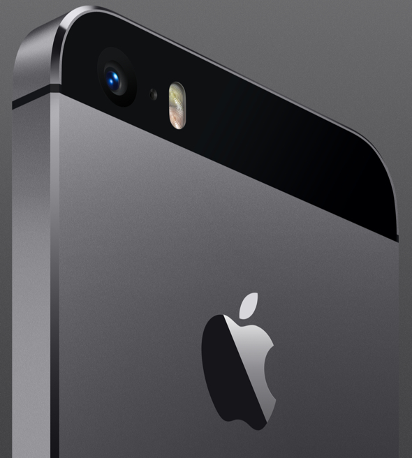 Apple's all-new iPhone 5s featuring True Tone dual-LED flash