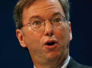 Eric Schmidt, Google Executive Chairman