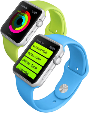 Apple Watch Sport with Apple's Activity and Workout apps