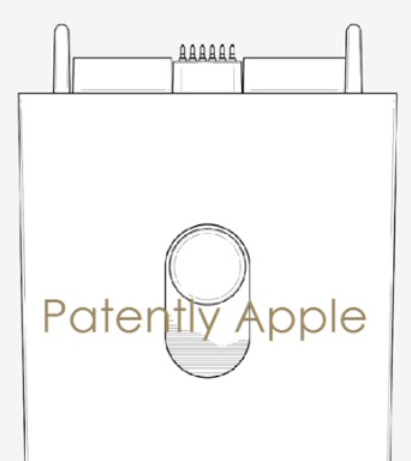 Apple Watch connector patent illustration