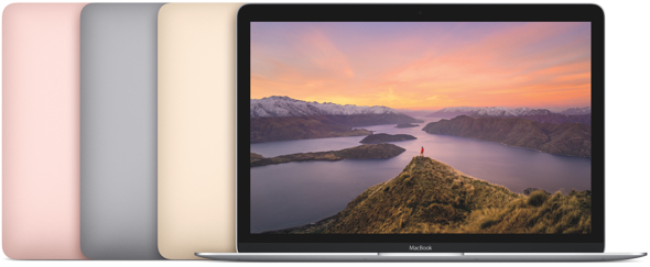 MacBook, Apple's thinnest and lightest Mac