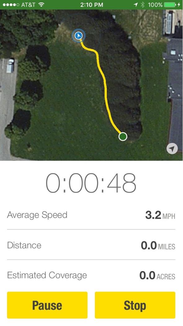 John Deere MowerPlus app for iPhone and Apple Watch