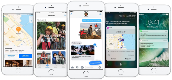 iOS 10 features a massive update to Messages, redesigned apps and exciting opportunities for developers