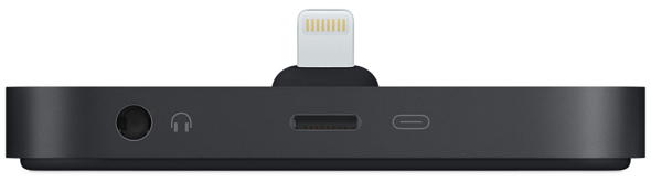 Apple's new iPhone Lightning Dock (US$49)