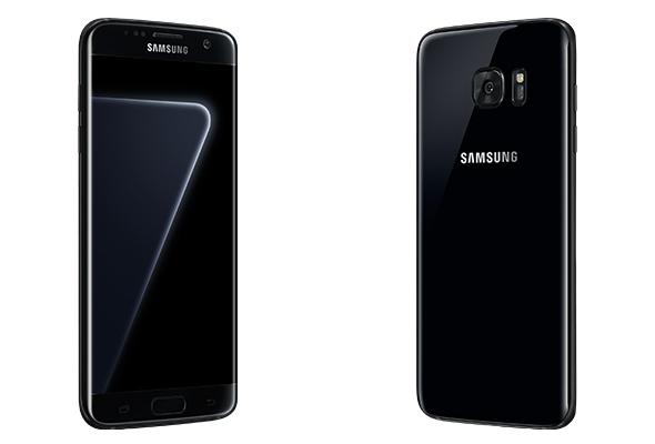 Samsung's glossy 'Black Pearl' Galaxy S7 Edge