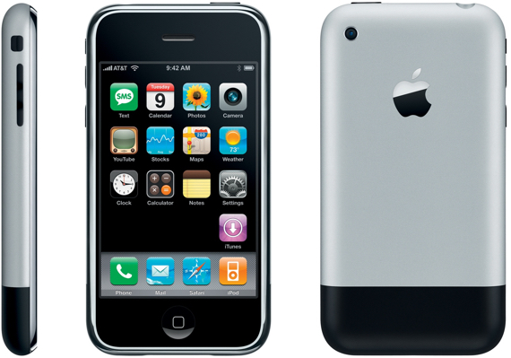 Apple's revolutionary first generation iPhone