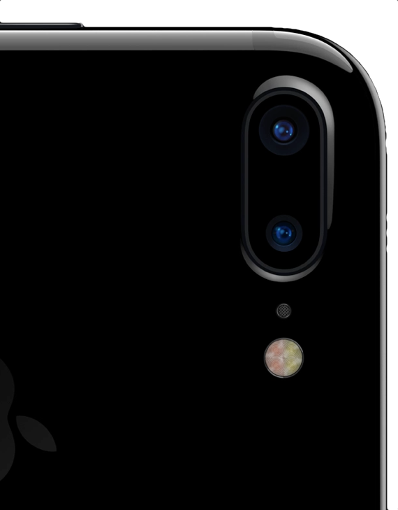 iPhone 7 Plus Camera. Two cameras that shoot as one