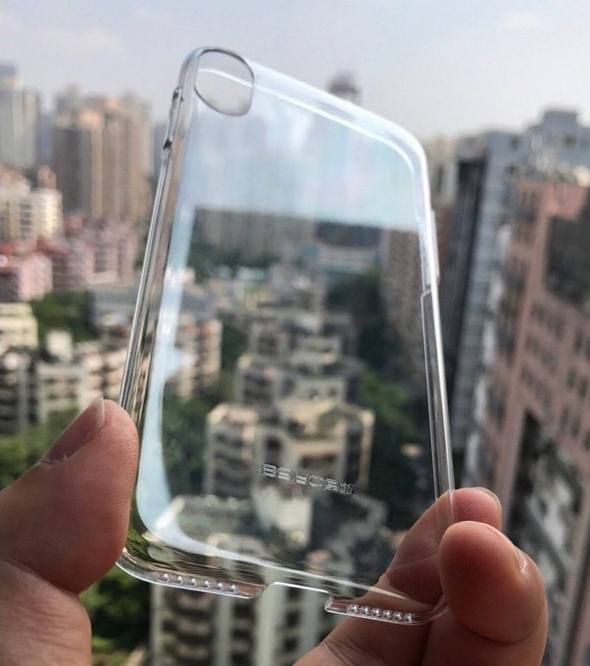 Purported iPhone 8 clear case has no rear Touch ID cutout, reaffirms vertical dual camera