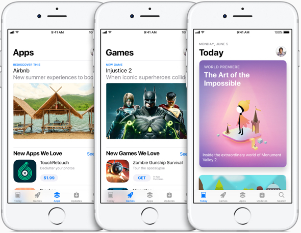 Apple's all-new App Store for iOS devices