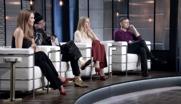 Planet of the Apps features Jessica Alba, will.i.am., Gwyneth Paltrow, and Gary Vaynerchuk