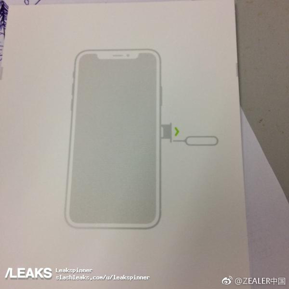 iPhone 8 diagram leaked