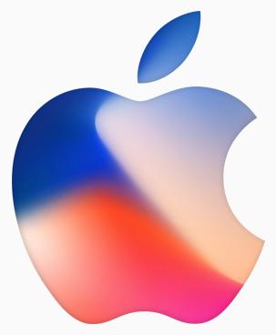 Apple logo, Sept 12 special event