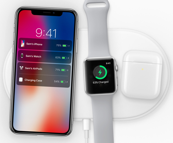 The AirPower mat was billed by Apple as being able to charge iPhone, Apple Watch and AirPods simultaneously