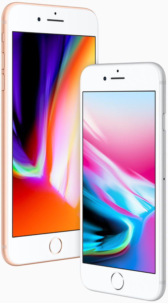 Apple's iPhone 8 and iPhone 8 Plus, powered by Apple's amazing A11 Bionic chip