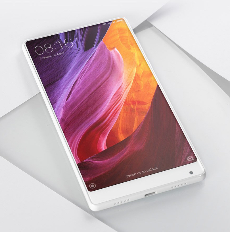 Mi Mix 2 with Full Active LCD display