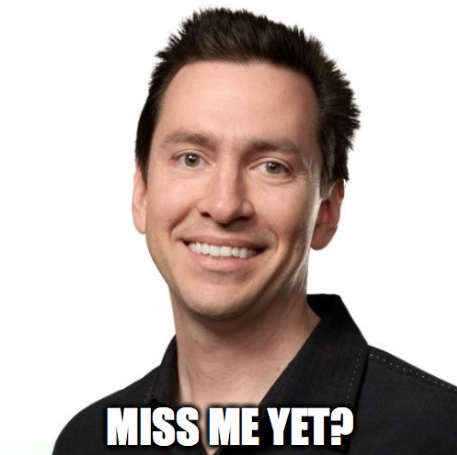Scott Forstall: Miss me yet?