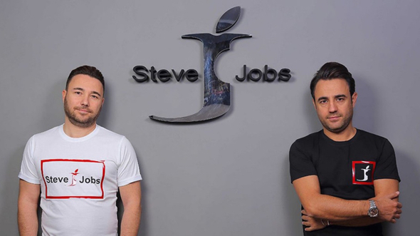 "Brothers Vincenzo and Giacomo Barbato founded the ""Steve Jobs"" brand"