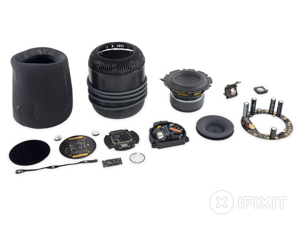 iFixit's Apple HomePod teardown reveals hidden 14-pin port, 16 GB flash storage
