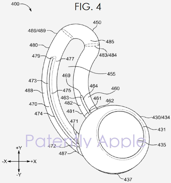 Apple patent application reveals ear wingtips for AirPods and EarPods