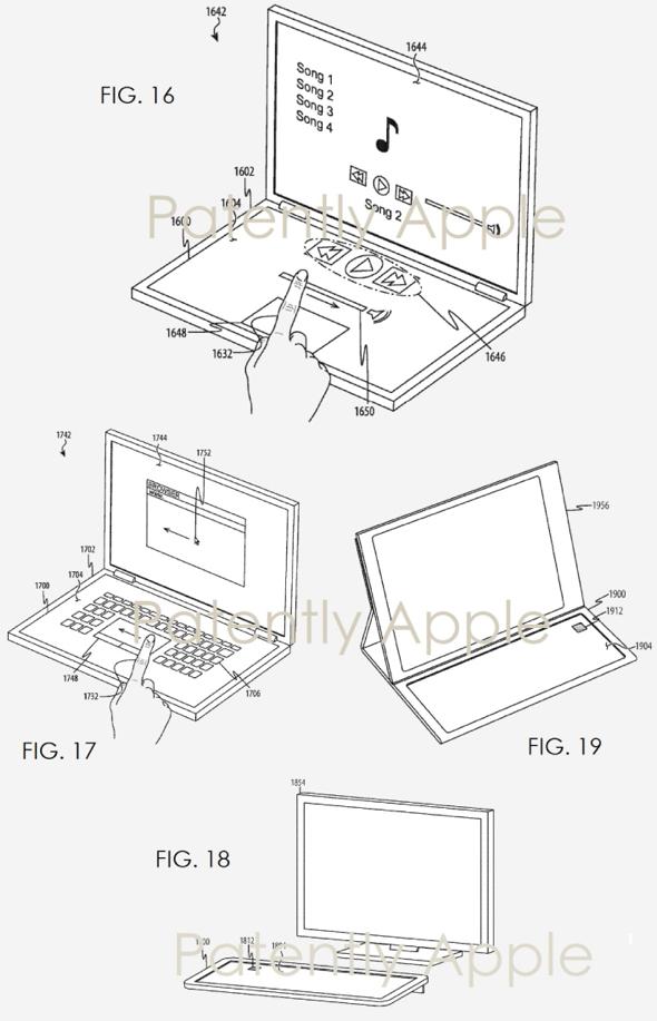 Apple patent application reveals 'keyless keyboard' featuring haptic feedback