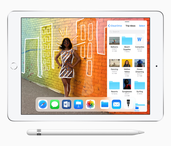 Apple's new 9.7-inch iPad supports Apple Pencil and features even greater performance
