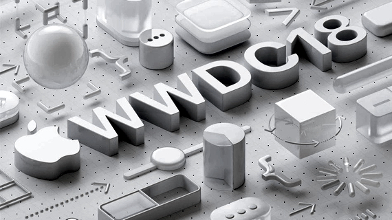 Apple's media invitation illustration for the June 4th WWDC 2018 keynote