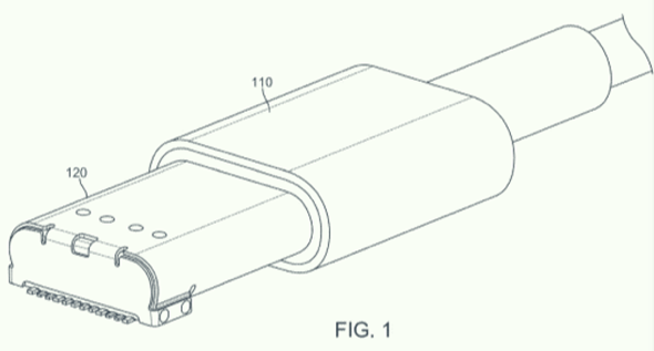 Illustration from an Apple patent application
