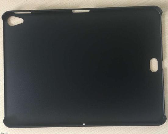 iPad Pro cover leak shows opening for rumored new Smart Connector location (image via Slashleaks)
