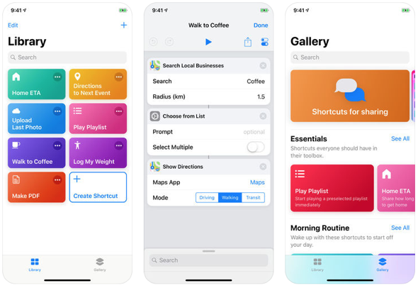 Apple's new Shortcuts lets you do more with your apps and Siri