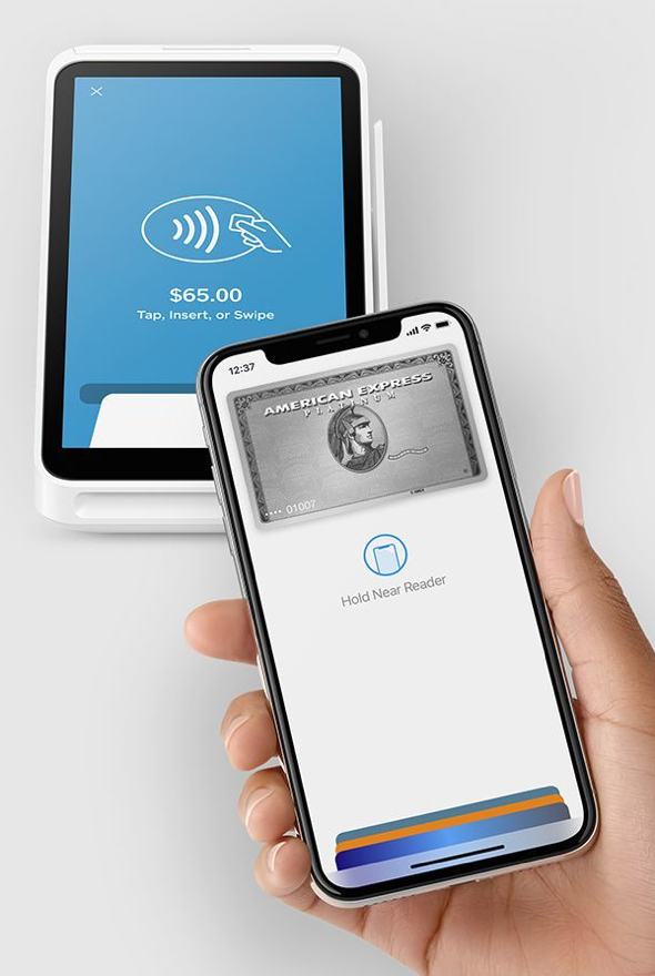 Square Terminal is an all-in-one device for payments and receipts. Users can take every type of payment quickly and securely with 24/7 fraud prevention and 24/7 phone support.