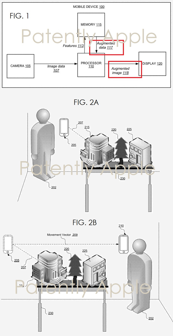 apple patent application reveals ar maps viewed from iphone  ipad  u2013 macdailynews