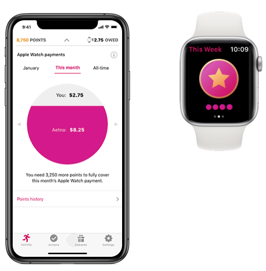 Aetna rewards Apple Watch wearers for healthy activity