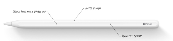 Apple's 2nd generation Apple Pencil