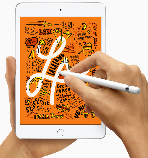 Apple's new iPad mini brings Apple Pencil support, Retina display and the A12 Bionic chip.